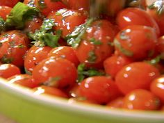 Garlic and Herb Tomatoes recipe from Ina Garten via Food Network