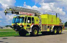 ◆Syracuse, NY FD Crash 6 ~ 1994 E-ONE Titan 55' CFR ARFF◆