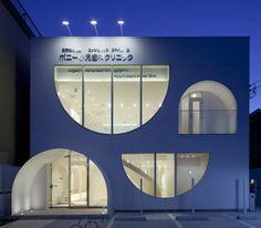 kino architects + kamitopen: pony pediatric dentistry clinic in tokyo - designboom   architecture & design magazine