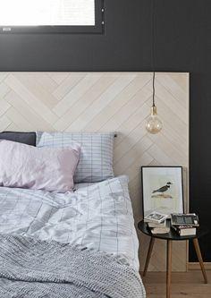 Seinäjoen asuntomessujen makuuhuoneissa suositaan luonnonmateriaaleja ja muhkeita petauksia. Katso Avotakan valinnat.