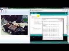 ▶ aula 4492 Arduino Carrinho testando na pratica com sensor ultrasonico para distancia - YouTube