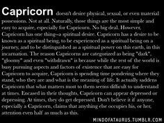 Capricorn doesn't desire physical, sexual, or even material possessions. Naturally, those things are the most simple and easy to acquire, especially for Capricorn. No big deal. All About Capricorn, Capricorn Girl, Capricorn Quotes, Zodiac Signs Capricorn, Zodiac Sign Traits, Aries Men, Horoscope Signs, Zodiac Quotes, Horoscopes