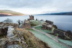 Loch Ness is infamous for being home to Nessie, the legendary Loch Ness Monster, but you can also visit the Urquhart Castle and its beautiful scenery.