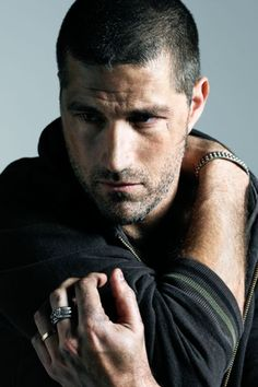 Matthew Fox - wouldn't mind being lost with him!