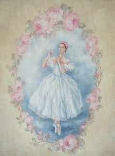 The Ballerina - Giclee Canvas Print