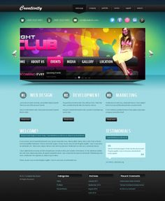 Creativity Design studio Joomla Template by Dynamic Template
