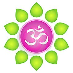 Illustration about Isolated vector om logo element. White om symbol in lotus flower - in pink circle with green leaves around on white background. Illustration of green, flowerer, ecology - 18651990 Hindu Symbols, Buddhist Symbols, Aum Tattoo, Om Art, Types Of Meditation, Yoga Meditation, Spiritual Eyes, Spiritual Pictures, Buddha Zen