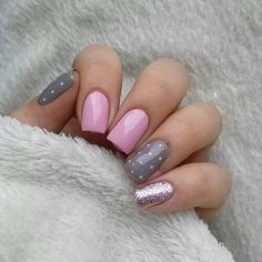 nails, pretty, and girl image
