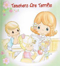 Serie Maestras   Teachers   Precious Moments   Tamaño Grande XL