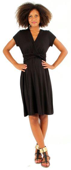 d&a chain waist nursing dress | Japanese Weekend Nursing and Maternity Clothing
