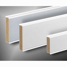 Kunststoff-Sockelleiste kubisch | 60mm hoch | versch. Farben
