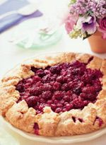 Mixed-Berry Crostata    From Country Living  Crostata a free-form rustic tart is a quick fill-in for two-crust pie and can be made in under an hour. Perfect pastry is easy with our Mixed-Berry Crostata and crostata isn't limited to berries: Take advantage of all of the seasonal fruits, like thin-sliced stone varieties. Equal amounts of peaches, plums, cherries, nectarines, or apricots can be substituted for some or all of the berries in our recipe, and you can create a different dessert each…