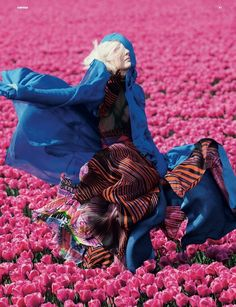 vivian sassen/dazed and confused. This whole shoot is just amazing.  Color and movement collide