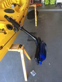 DIY PVC outriggers for Kayak