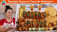 Carne Adobada, Mexican, Meat, Chicken, Ethnic Recipes, Food, Youtube, Homemade Tacos, Trays