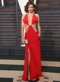 Miranda Kerr no afterparty do Oscars 2016