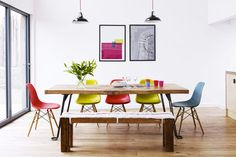 The Colorful Decor Apartment in England by Kid & Coe - DECOmyplace