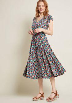2c94b6fa540c Ivory Floral Chiffon Midi Skirt in 2018 | Products | Pinterest ...
