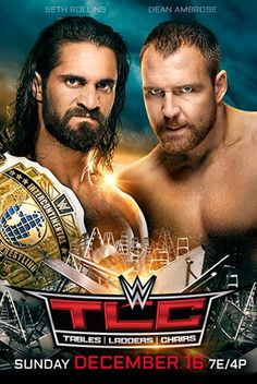Official WWE Authentic Tables Ladders and Chairs 2018 Poster for sale online Seth Rollins, Wwe Ppv, Ladder Chair, Wwe Pay Per View, Wwe Roman Reigns, Sale Poster, Superstar, Wrestling, Ladders