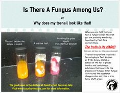 If you have been diagnosed with a #fungal #toenail infection and ever wondered how they discovered it, check out the latest infographic from Country Foot Care.