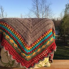 Finally had a full day of glorious sunshine with no clouds and no wind! These days are rare where I live. So when you get them you must take advantage. I was able to enjoy a few hours of peaceful outdoor crocheting . #crocheted #sundayshawl #crochet #crochetersofinstagram #crochetaddict #crochetlove #outdoorcrocheting #crochetart #yarn #yarnlove #crochetinspiration #craftastherapy #yarnaddict #crochetlife #instacrochet #crocheting #crochetshawl #crochethat #crocheter #hobby #handmade…