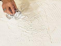 ♕ DIY rough plaster walls tutorial