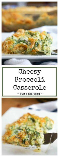 Cheesy Broccoli Casserole