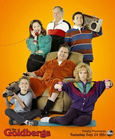 The Goldberg's....hilarious!  This is a great show. I love the real video from their lives at the end of every show.