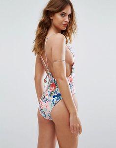 Motel Floral Swimsuit - Multi