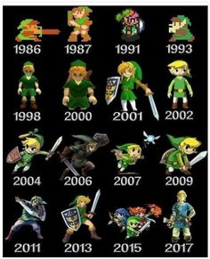 game game fondos Link / Zelda Through The Years The Legend Of Zelda, Legend Of Zelda Memes, Legend Of Zelda Breath, Retro Videos, Retro Video Games, Video Game Art, New Video Games, Retro Games, Link Zelda
