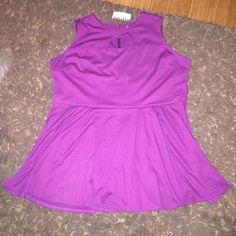 Purple dress Brand NWT purple dress with some stretch size 3x BONGO Dresses