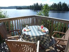 Images from the Voyageur Quest Island Retreat in Algonquin Park Algonquin Park, Outdoor Tables, Outdoor Decor, True Gentleman, Photo Galleries, Internet, Outdoor Furniture, Island, Gallery