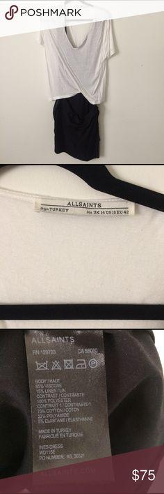 All Saints T Shirt-Skirt Dress Size 10 All Saints T Shirt-Skirt Dress Size 10 All Saints Dresses Midi