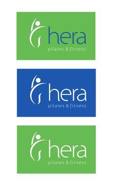 Variantes de logo Hera pilates & fitness