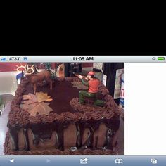 Grooms cake possibly but I need to find the hunter and deer. Anyone know of a place???