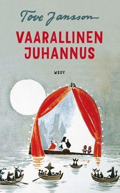 Vaarallinen juhannus by Tove Jansson Tove Jansson, Troll, Les Moomins, Tidy Books, Children's Book Illustration, Illustrations, Childrens Books, Retro Vintage, Nostalgia