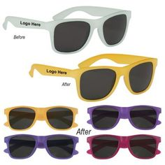 Give your brand promotion a magic touch with customized color changing Malibu Sunglasses. If getting the most customer attention is your goal then these custom sunglasses wit Spring Break Party, Promo Gifts, Custom Balloons, Brand Promotion, Eye Glasses, Look Cool, Best Part Of Me, Color Change, Eyewear