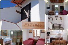 Esta casa rural para despedidas de solteros y solteras en Málaga,está ubicada en una sola planta, situada encima de su amplio porche, que tiene barbacoa y mobiliario rústico de madera, por lo que accedemos a ella por una escalera exterior.