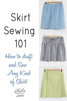 DIY Skirt Sewing 101..