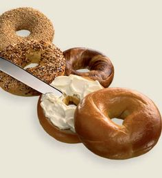 Bagels And Cream Cheese! Only The Best Thing Ever!