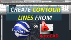 Contour Line Drawing In Autocad : Cad forum how to convert d polylines surfaces