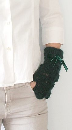 Scaldapolsi ~ Fingerless gloves di @Mimì Callme via it.dawanda.com