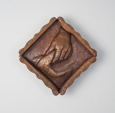Clutch by Avery Lucas,  Copper,  10 x 10 x 1.5 inches,  Photo Credit: Richard Gormley, Hand formed and chased