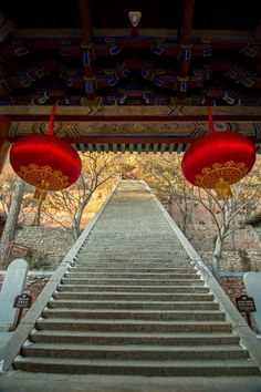 Climb the 60 degree staircase to Henzong Hall on the Sacred Mountain Hengshan. http://passportchronicles.com/how-to/china-how-to/101-travel-experiences-in-china/