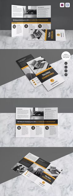 Brochure Template InDesign INDD - A4