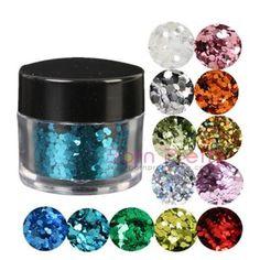 I find an excellent product on @BornPrettyStore, 1PC Hexagon Nail Art Glitter Dust Powder Nobl... at USD $2.38. http://www.bornprettystore.com/-p-785.html