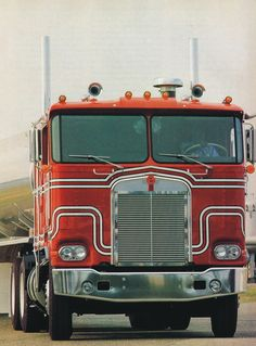 1980 Kenworth K100 Magazine Advertisment
