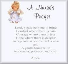 A Nurses Prayer. Did you know that National Nurse's Week ends on Florence Nightingale's Birthday, May Nurses Prayer, Prayer Prayer, Daily Prayer, Prayer Images, National Nurses Week, Happy Nurses Week, Nurse Love, Florence Nightingale, Nursing Students