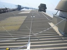 Rooftop Cable Fall Protection