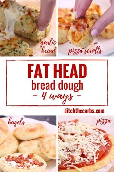 The world's no.1 low-carb mozzarella dough recipe - 4 ways. Watch the quick cooking video that has gone viral. #lowcarb #keto #pizza #glutenfree #ketofam #sugarfree | ditchthecarbs.com
